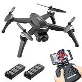 JJR/C X5 EPIK RC Drone avec caméra 2K 5G WIFI FPV GPS Quadcopter Suivez-moi Headless mode Trajectoire Vol osmlvjj (Size : Box package2 battery)