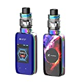 Ufficiale VAPTIO X Hubble 220W Sigaretta Elettronica Kit Apolo Tank 5.0ml Svapo Advanced Kit 2' HD Screen VW Temp Control Vapore Enorme No E Liquido Senza Nicotina(Prism Rainbow)