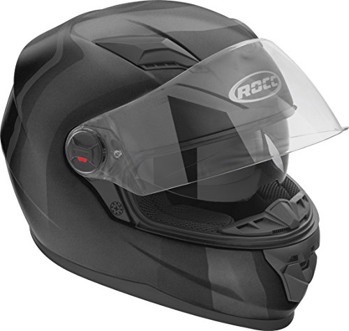 Rocc 320 Uni Helm S Schwarz Matt