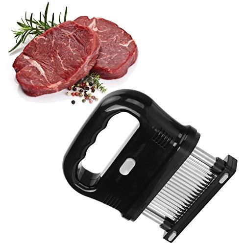 Aguja para bistec, ablandador de carne Práctica amplia gama de aplicaciones Diseño ergonómico para rápido y conveniente para el músculo de res y otras carnes Carnes sueltas