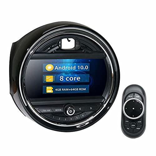 ROADYAKO 9Inch 64GB Android 10.0 Indash Car Multimedia para BMW New Mini EV0 2018 2019 Car Stereo Radio Navegación GPS Unidad Principal Car PC 4G WiFi RDS FM Am Bluetooth Mirrorlink