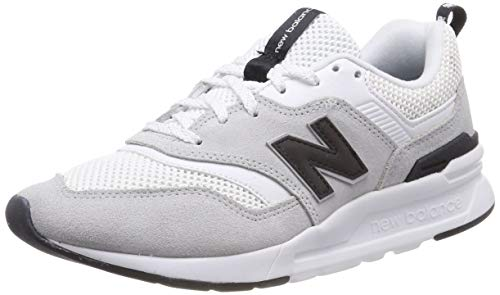 New Balance Damen 997H d Sneaker, Weiß (White/Black), 40 EU