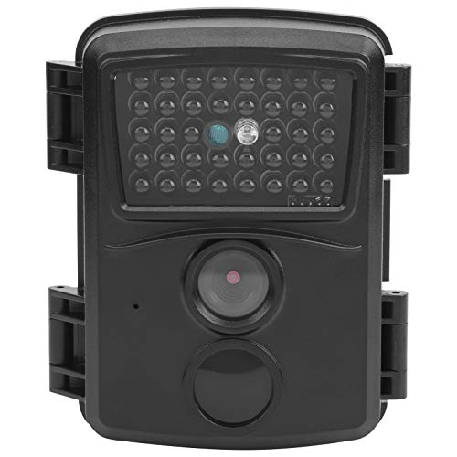Campark Trail Camera - Waterproof 12MP 1080P Game Hunting Scouting Camera, with 38pcs IR LEDs Night Vision lights, for Wildlife Monitoring - Include Card reader & Fastening strap(black)