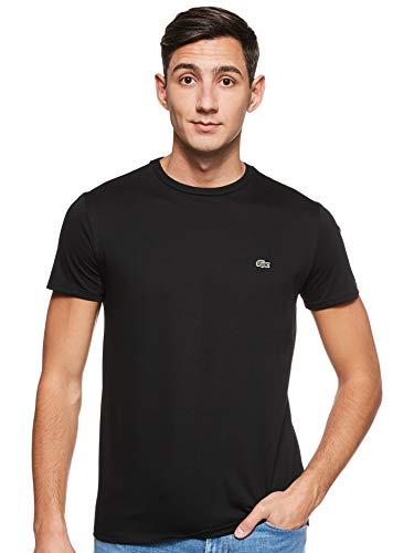 Lacoste Herren T-Shirt Th6709 , Schwarz (Noir) , XXXX-Large (Herstellergröße: 9)