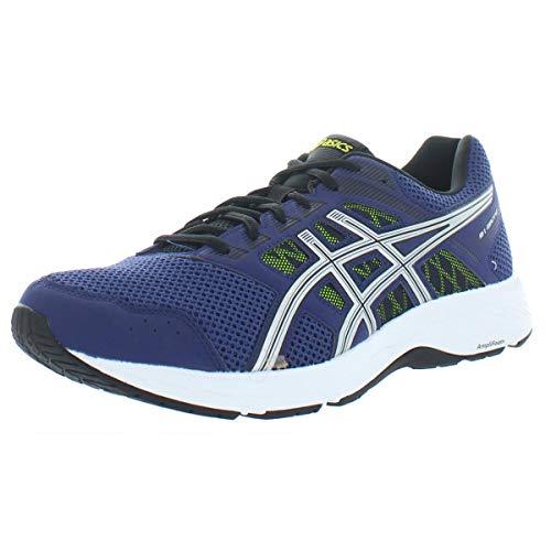 ASICS - Herren Gel-Contend 5 (4E) Schuhe, 45 4E EU, Indigo Blue/Silver