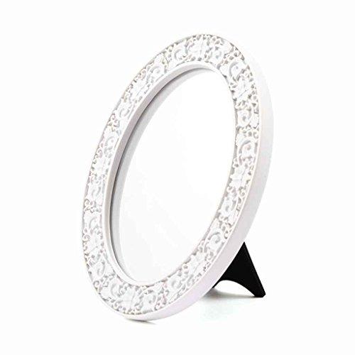 Miroirs de Maquillage Simple Bureau Dressing Mirror Portable Pliant Bureau Princesse De Mariage Cadeaux