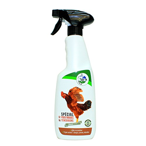 TERRA NOSTRA Insecticide Naturel Basse Cour POUX Rouges TENEBRIONS ACARIENS Spray 500ml Utilisable en Agriculture Biologique