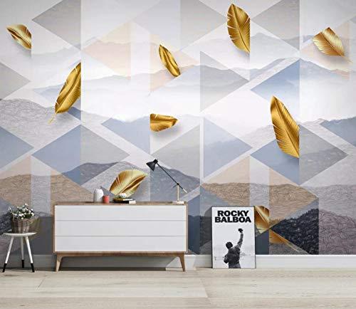 Fotobehang voor wand, motief: bladgoud 400cm x 280cm
