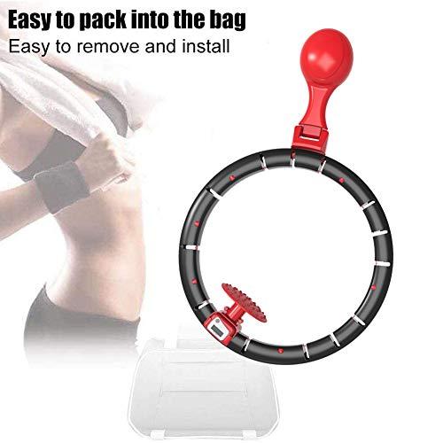 Hula Hoop Fitness Gewichtsreduktion Hula Hoops Für Erwachsene Und Kinder Mit 360 ° Drehung Smart Counting Einstellbar Größe Sportgerät