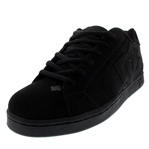 DC Shoes Herren Net Skateboardschuhe, Schwarz (Black/Black/Black), 42.5 EU