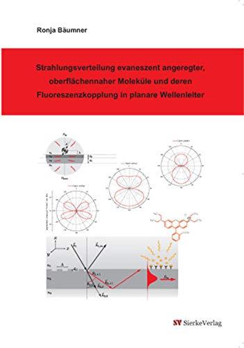 Strahlungsverteilung evaneszent angeregter, oberflächennaher Moleküle und deren Fluoreszenzkopplung in planare Wellenleiter
