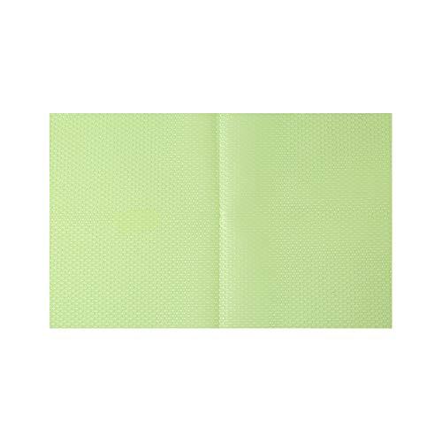 Decdeal Koelruimtematten, geschikt voor op de koelkast, kan worden gesneden, antibacterieel, antifouling, absorptie, waterdicht groen