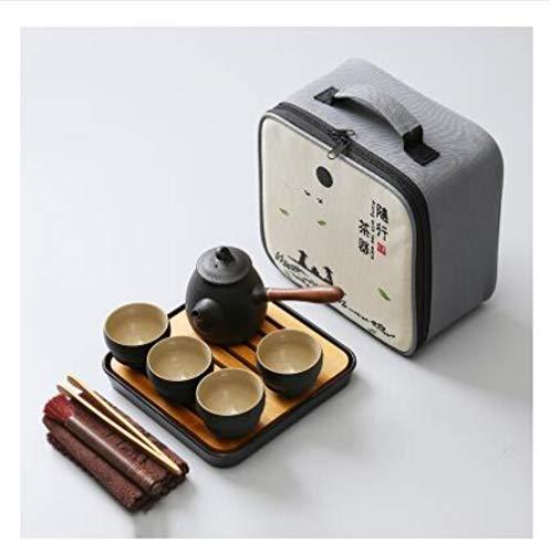 TOSISZ Japanse keramische theepot waterkoker theekop keramiek theesets Kung Fu thee set met dienblad