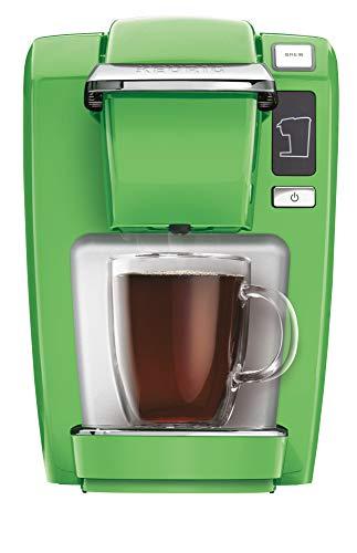 Keurig K15 Coffee Maker, Single Serve K-Cup Pod Coffee Brewer, 6 to 10 oz. Brew Sizes, Greenery