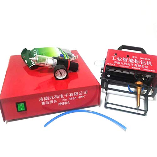 Yuhappy Portable Pneumatic Dot Peen Marking Machine for VIN Code Chassis Number 110V/220V