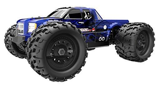 Redcat Racing Landslide XTE Electric Monster Truck, 1/8 Scale, Blue