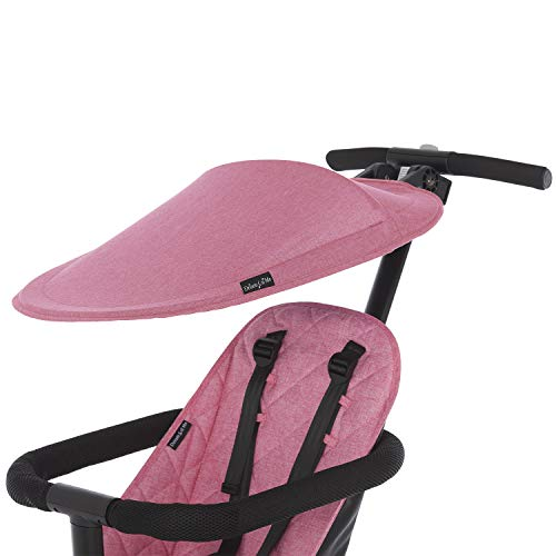 Find Bargain Dream On Me Coast Rider Stroller Canopy, Pink