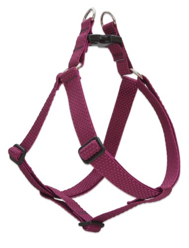 LupinePet Eco 1' Berry 19-28' Step In Harness for Medium Dogs