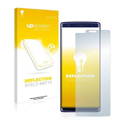 upscreen Entspiegelungs-Schutzfolie kompatibel mit Doogee Mix 2 – Anti-Reflex Bildschirmschutz-Folie Matt