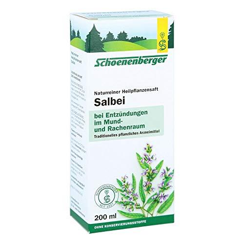 Schoenenberger Salbei naturreiner Heilpflanzensaft, 200 ml Lösung