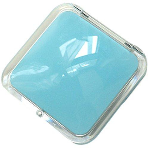 mode miroir cosmétique / carré miroir de maquillage, bleu