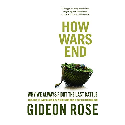 How Wars End audiobook cover art