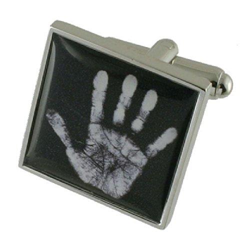Manschettenknöpfe Manschettenknöpfe Polizei~ Forensische Wissenschaft Seite drucken Ghost Manschettenknöpfe wählen Sie Geschenk Tasche