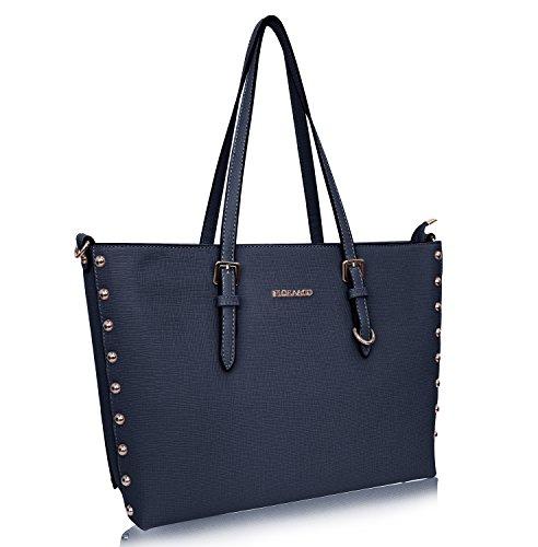 Flora & Co Damen Handtasche Kunstleder Shopper neu