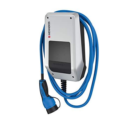 MENNEKES AMTRON 121001205 Compact 3,7/11 C2 – 11 kW private Garagen-Wallbox inkl. 5 m PKW-Ladekabel mit Typ 2 Ladestecker