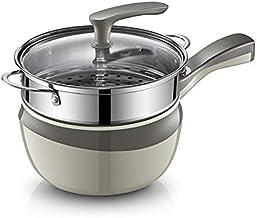 DIAOD Portable Multifunctional Rice Cooker Multifunctional Rice Cooker Noodle Pot Kitchen Mini Hot Pot Hot Pot Steamer Wok...