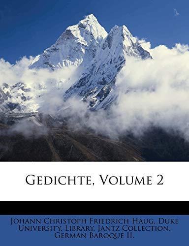 Johann Christoph Friedrich Haug: Gedichte, Volume 2