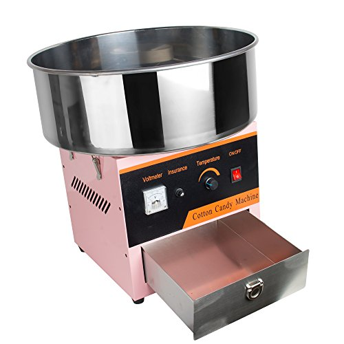 ixaer Electric Cotton Candy Floss Making Machine for Party or Commercial Use 110V-Shipment from USA