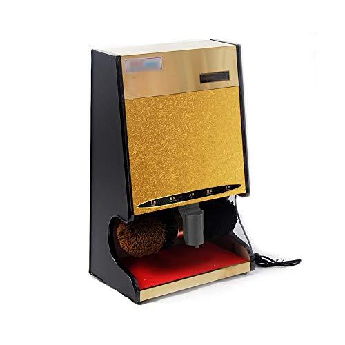 XSJZ Schuhputzmaschine, Automatische Schuhputzmaschine Elektrische Schuhbürste für Commercial Hotel Lobby Hotel elektrischer Schuhputzer (Color : B)
