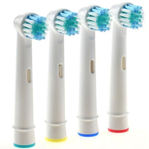JJOnlineStore–JJOnlineStore–Cabezales cepillo de dientes eléctrico de repuesto de cepillos de dientes cepillos...