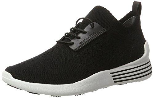 Kendall + Kylie Damen KKBRANDY Sneaker, Schwarz (Black/Black Knit Runner Sof), 39.5 EU