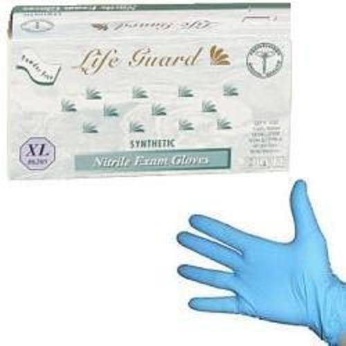 Life Guard - Nitrile Medical Exam Gloves, Powder Free - Case Size X-Large