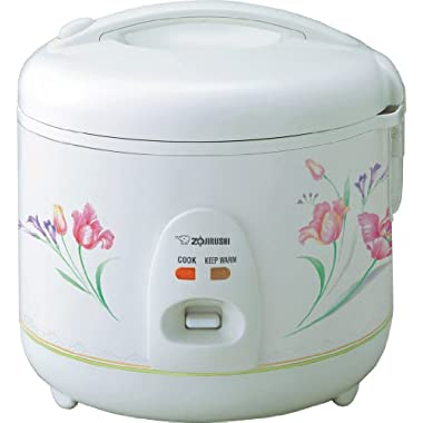 Zojirushi NSRNC10FZ Automatic Rice Cooker and Warmer 5.5-Cup/1.0-Liter, Spring Bouquet