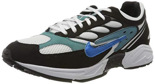 Nike Herren AIR Ghost Racer Laufschuh, Black Photo Blue Mineral Teal Black, 43 EU