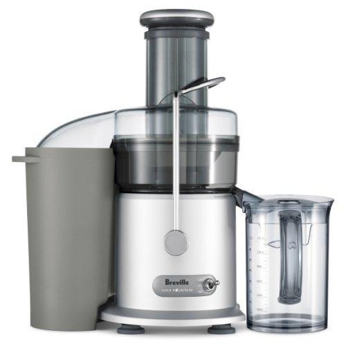 Breville Juice Fountain Plus 850-Watt 1.1Qt Dual Speed Electric Juicer - JE98XL
