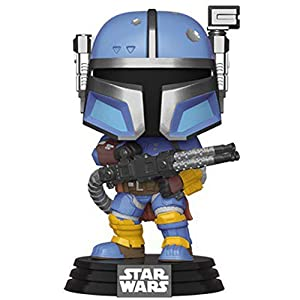 Funko Star Wars: The Mandalorian - Heavy Infantry Mandalorian - 41e5QI8A8YL - Funko Star Wars: The Mandalorian – Heavy Infantry Mandalorian