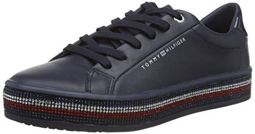 Tommy Hilfiger Damen Jupiter 18a2 Sneaker, Blau (Desert Sky Dw5), 42 EU