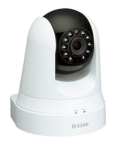 D-Link DCS-5020L Videocamera di Sorveglianza Wireless N, Funzionalità Range Extender, Motorizzata, Rilevatore di Movimenti e Suoni, VGA + Repeater