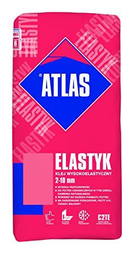 ATLAS ELASTYK Elastischer Klebemörtel Fliesenkleber C2TE 2-10 mm 25Kg