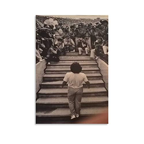 Maradona Photo Luciano Ferrara - Póster artístico de pared (60 x 90 cm)
