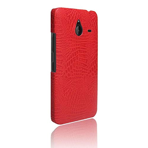 Manyip Custodia e Cover per Nokia Lumia 640XL,Cellulare Rugged Shield 360 ° Proteggi Il Tuo Telefono Custodia a Conchiglia Modello Coccodrillo Compatibile con Nokia Lumia 640XL