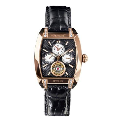 Ingersoll Damen-Armbanduhr Wisconsin Analog Automatik IN8205RBK