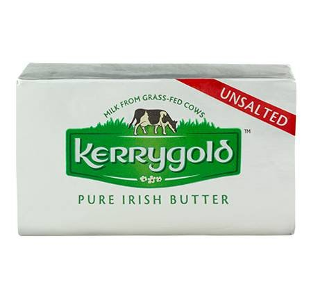 Kerrygold Pure Irish Butter - Unsalted 8.oz (2 pack)