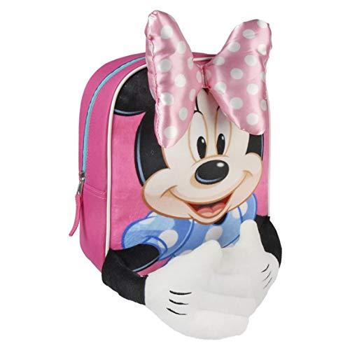 Minnie Mouse CD-21-2206 2018 Mochila Tipo Casual, 40 cm, 1 Litro, Multicolor