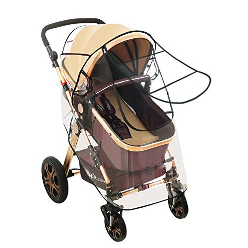 Kinderwagen Regen - Windschutz Universal, Kinderwagen Wetterschutz, UV Schutz Sonnenschutz