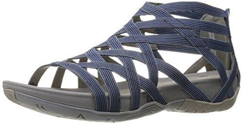 BareTraps Samina Women's Sandals & Flip Flops Denim/Ice Size 9.5 M (BT24009)